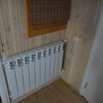 Отопление у входной двери